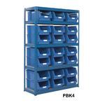 Shelving Storage Bays With Plastic Bins Thumbnail 4