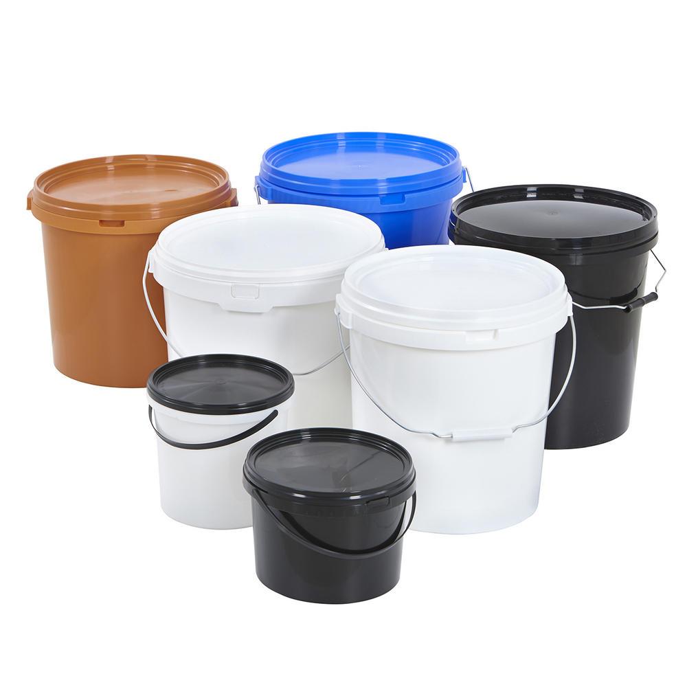 Round Plastic Buckets
