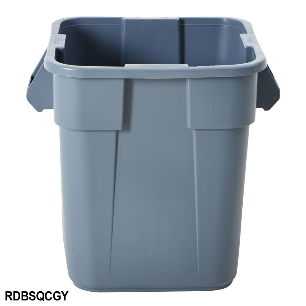 Industrial Storage Pods : Rubbermaid brute square container bins brutes