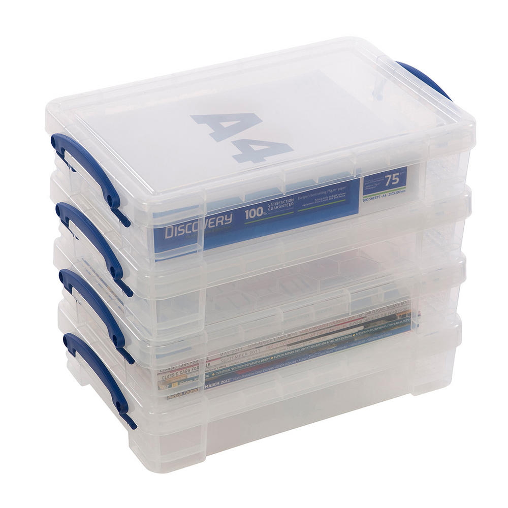 Really Useful Box 4 Litre Capacity (Pack Of 4)