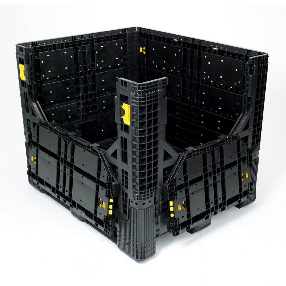 Industrial Storage Pods : Folding bulk containers ibc s pallet boxes bernard