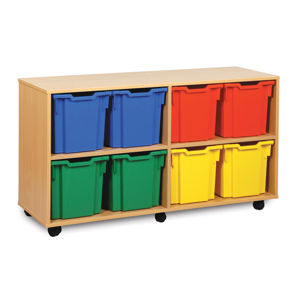 Gratnells 8 Jumbo Tray Wooden Units