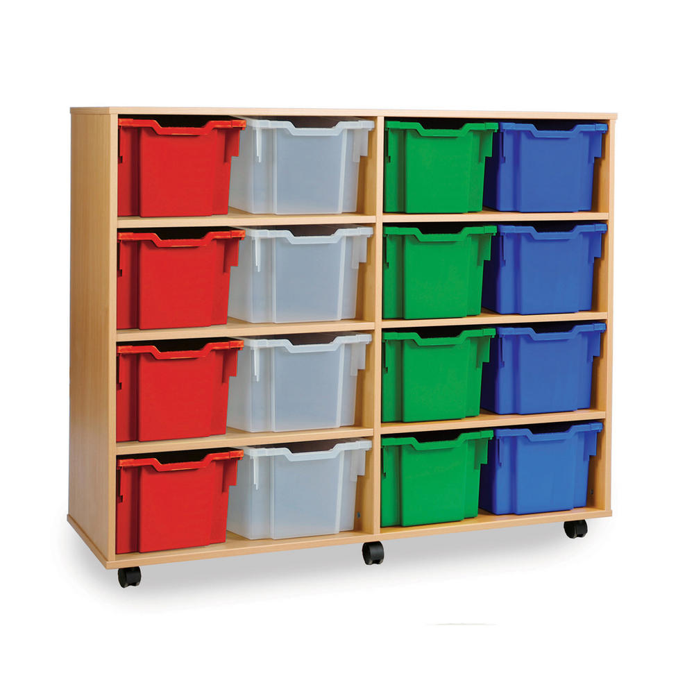 Gratnells 16 Extra Deep Tray Wooden Units