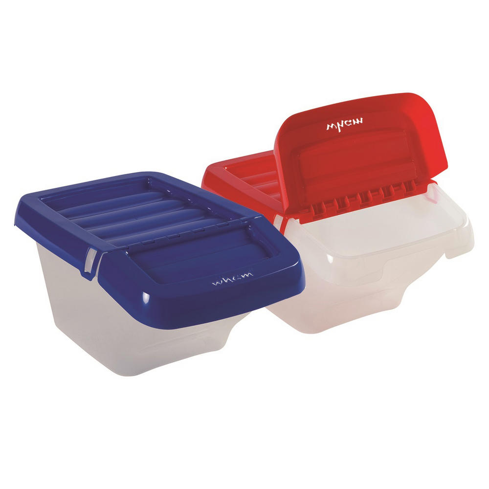Wham Storage & Recycling Bin With Hinged Lid