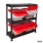 Plastic Storage Kits With Hinged Boxes Thumbnail 3