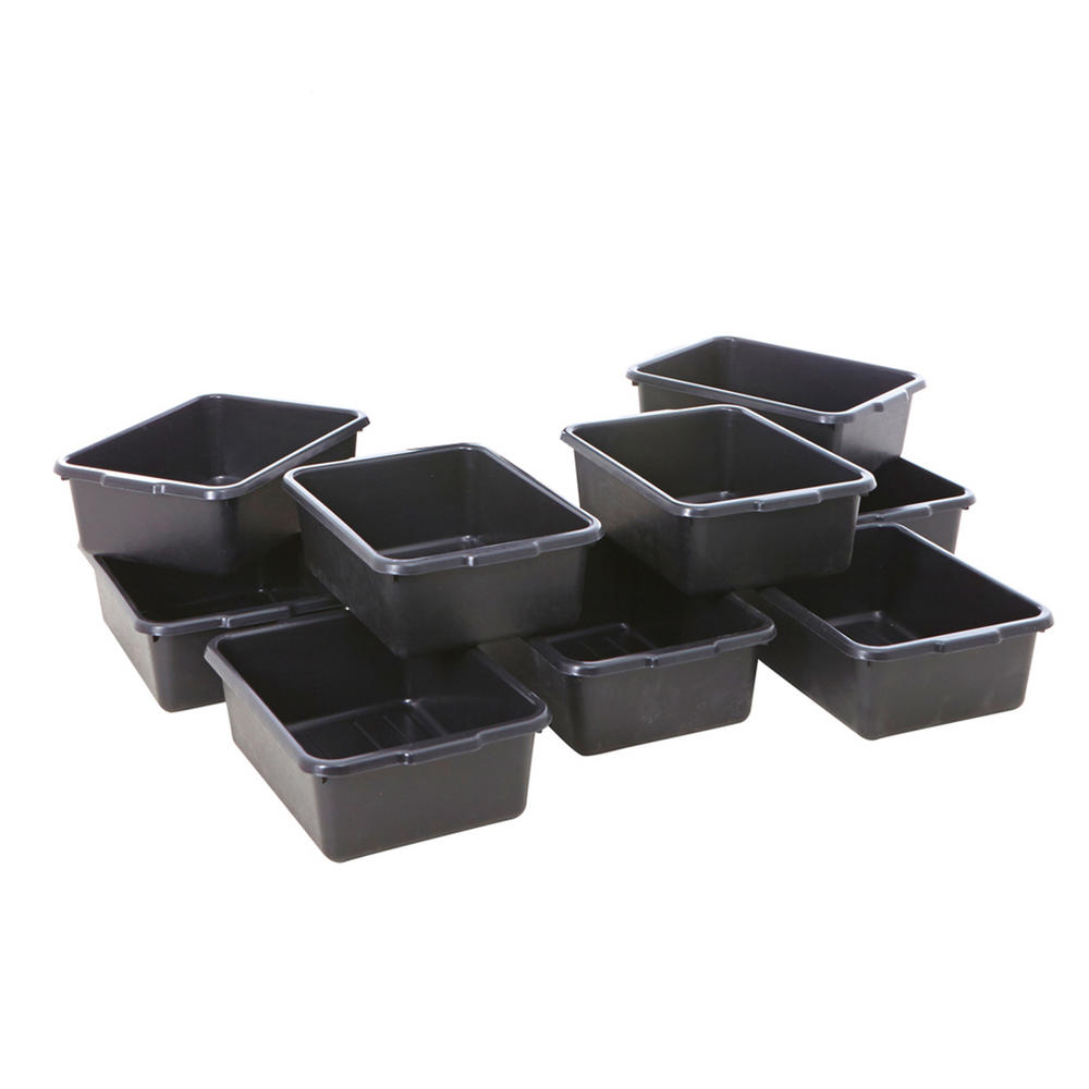 Heavy Duty Black Plastic Container