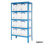 Shelving Bay With 35 Litre Really Useful Boxes Thumbnail 2