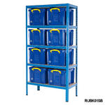 Shelving Bay With 35 Litre Really Useful Boxes Thumbnail 3
