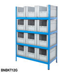 Shelving Kits With Grey Euro Containers Thumbnail 4