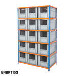 Shelving Kits With Grey Euro Containers Thumbnail 5