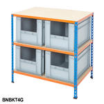 Shelving Kits With Grey Euro Containers Thumbnail 6