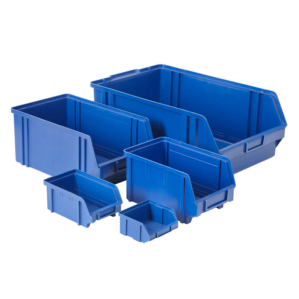 Value Plastic parts Bins Blue