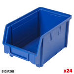 Value Plastic parts Bins Blue Thumbnail 4