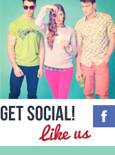 Get Social, Like Us