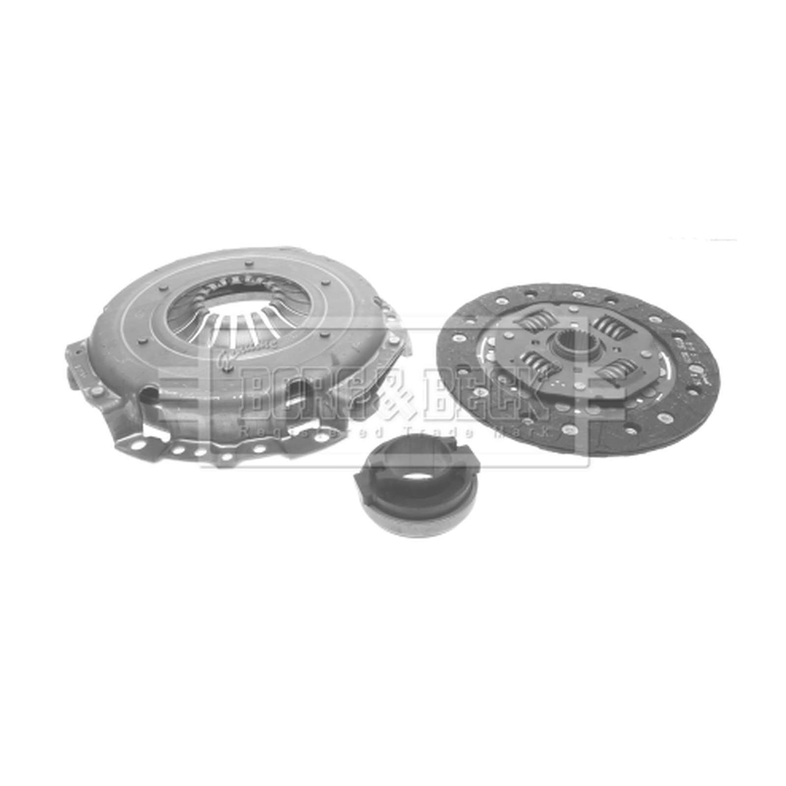 RELIANT SCIMITAR 1.6 Clutch Kit 3pc 85 to 90 LuK Quality Cover+Plate+Releaser