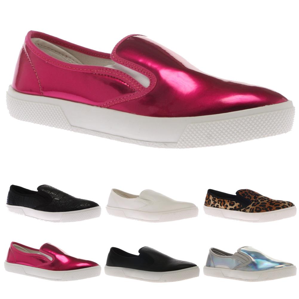 zapatos vans sin cordones dama