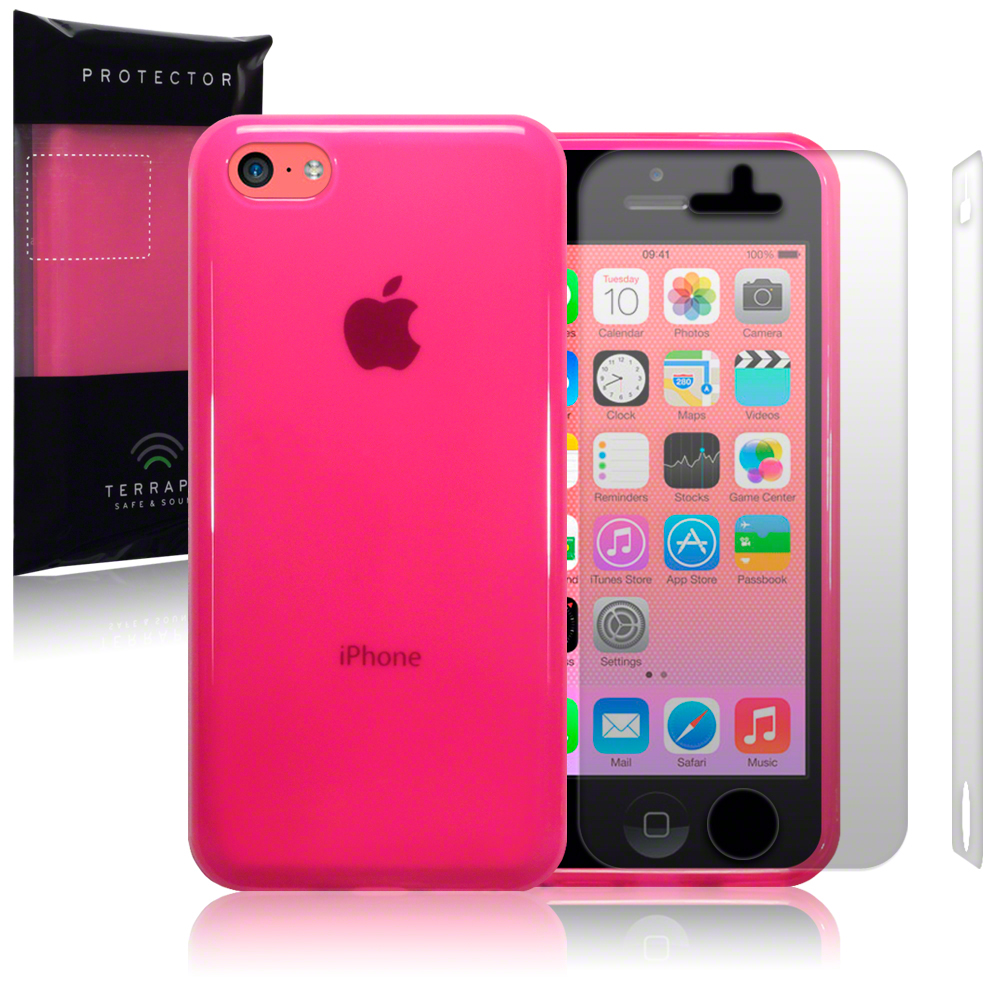 iphone 5c free pink rubber cover for new apple iphone 5c free 4991