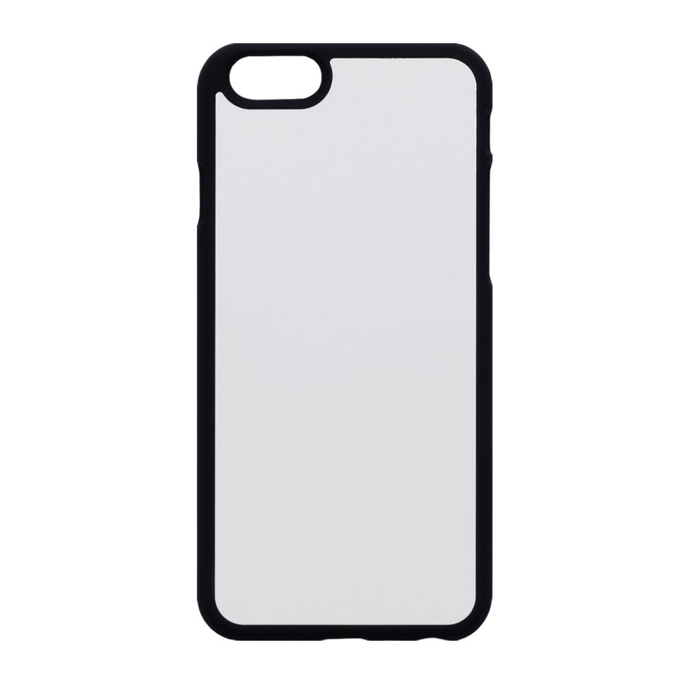 buy online 24cb5 158a7 Details about Blank 2D Rubber Finish sublimation Apple iPhone 6/6S case  Black
