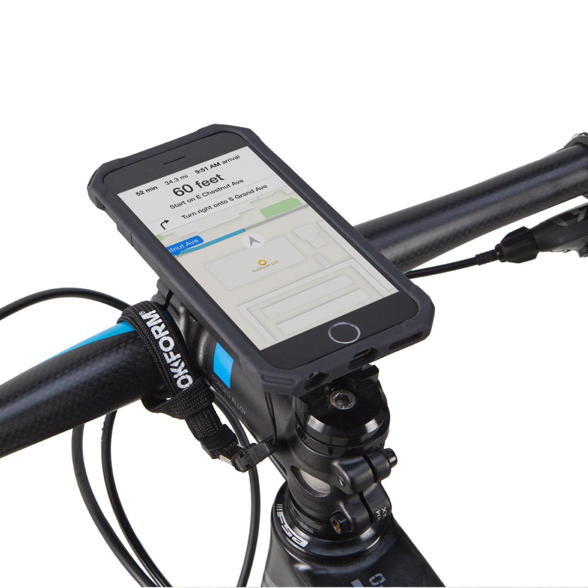 info for 319d7 ccbcf Details about Rokform Bike Mount Kit - iPhone 7 Plus / 8 Plus with Black  Rokshield Case