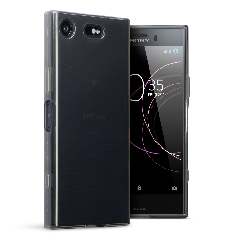 black red clear slim thin rubber gel case cover for sony xperia xz1 compact ebay. Black Bedroom Furniture Sets. Home Design Ideas
