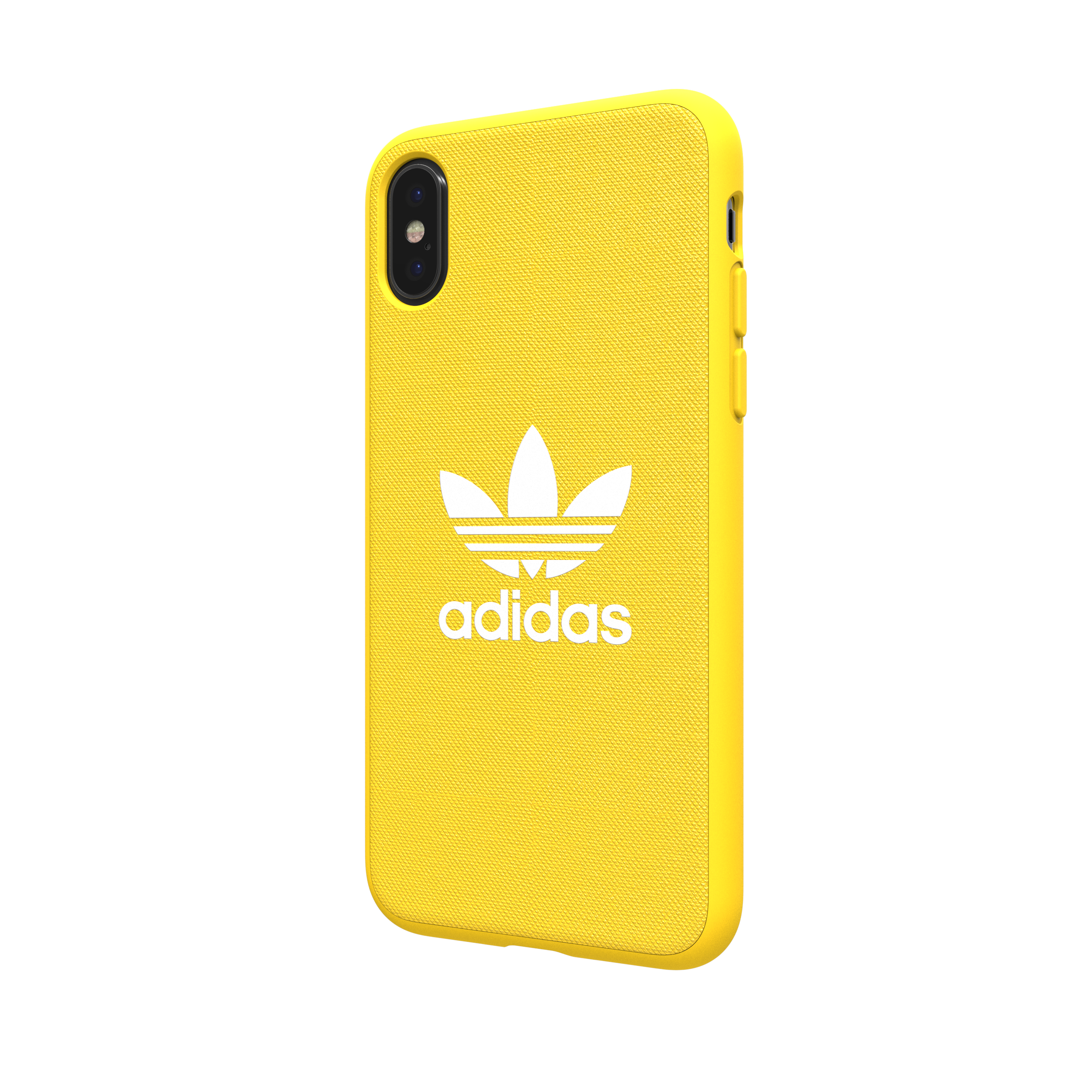 newest 42c80 0ea79 Details about Adidas Originals Adicolor Moulded Case / Cover for Apple  iPhone X - Yellow