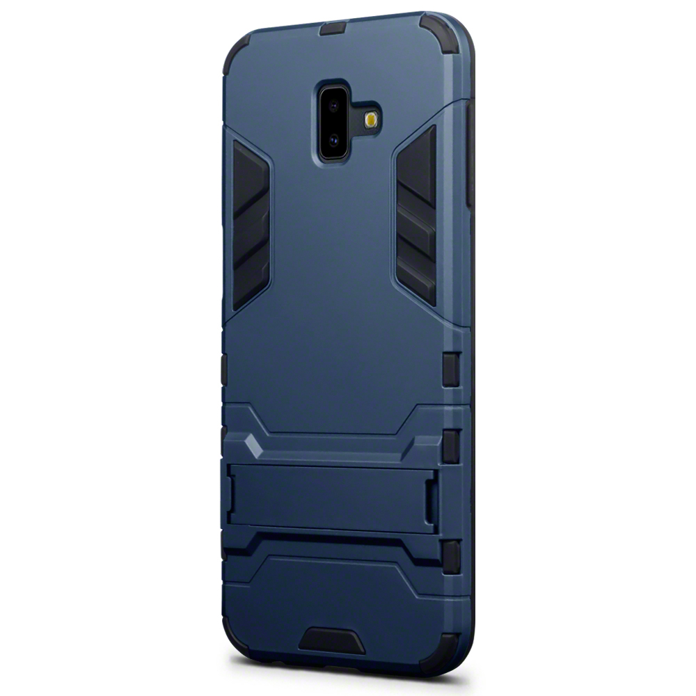 220060fc1d3be Sentinel Shock Slim Armour Case with Stand for Samsung Galaxy J6 Plus 2018  - Blue. Sentinel Thumbnail 2
