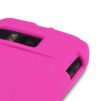 HOT PINK SILICONE SKIN CASE/COVER FOR NOKIA E6