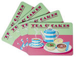 Tea & Cakes Design Placemats