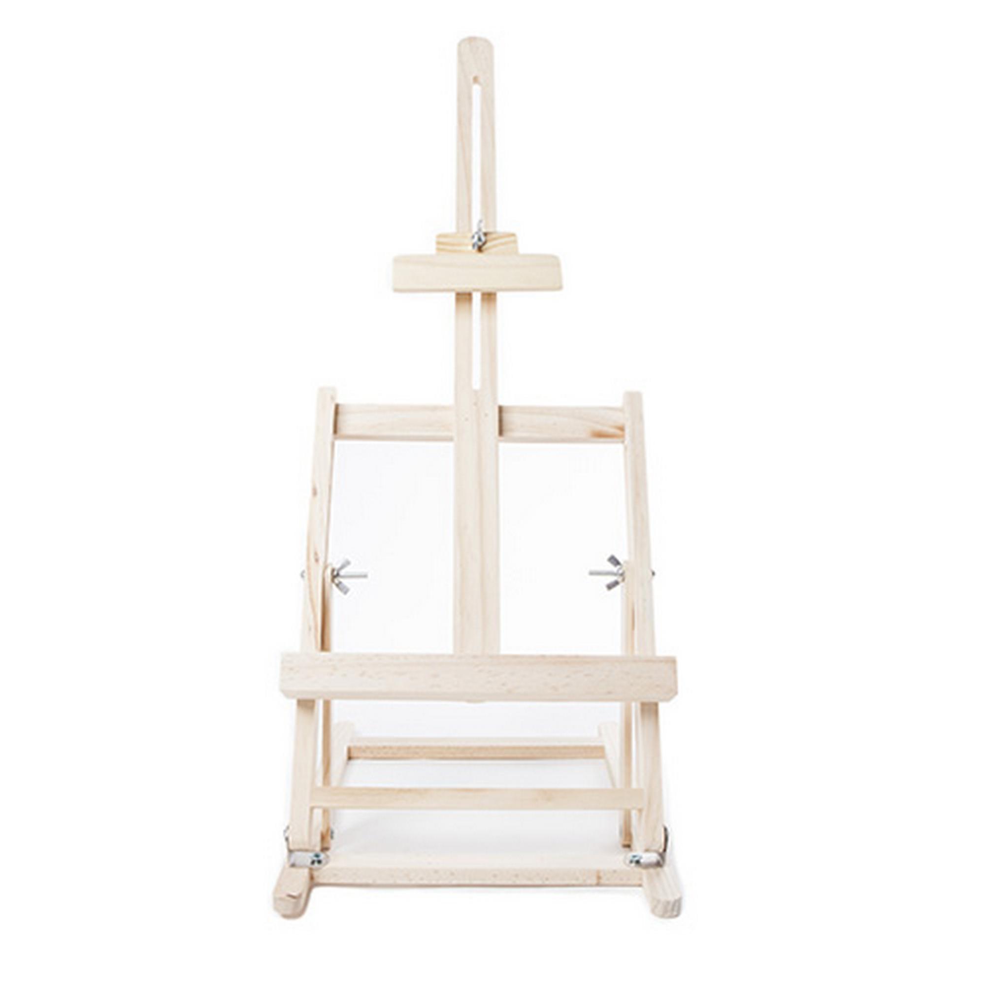 Pine Adjustable Desk Table Top Easel Wooden Artist Tripod