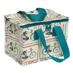Bicycle Design Insulated Lunch Bag