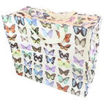Butterfly Design Storage Laundry and Toy Bag
