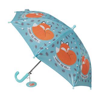 Kids sleeping fox Design Umbrella