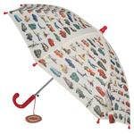 Vintage Childrens Umbrella Transport Design