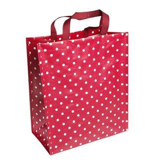 Polka Dot Shopping Bag