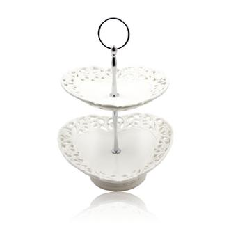 Heart shaped cake stand