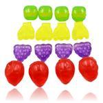 20x Fruit Shaped Reusable Ice Cubes