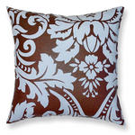 Blue 'Flock' Design 40cm Filled Cushion Cover
