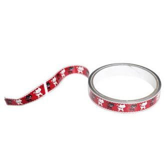 Metalic Cats Pattern Wrapping Tape