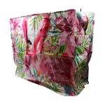 Flamingo Design Storage Laundry and Toy Bag