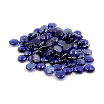 Dark Blue Glass Gems