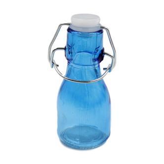 Blue Mini Coloured Bottles