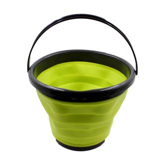 Green Collapsible Water Bucket 10L