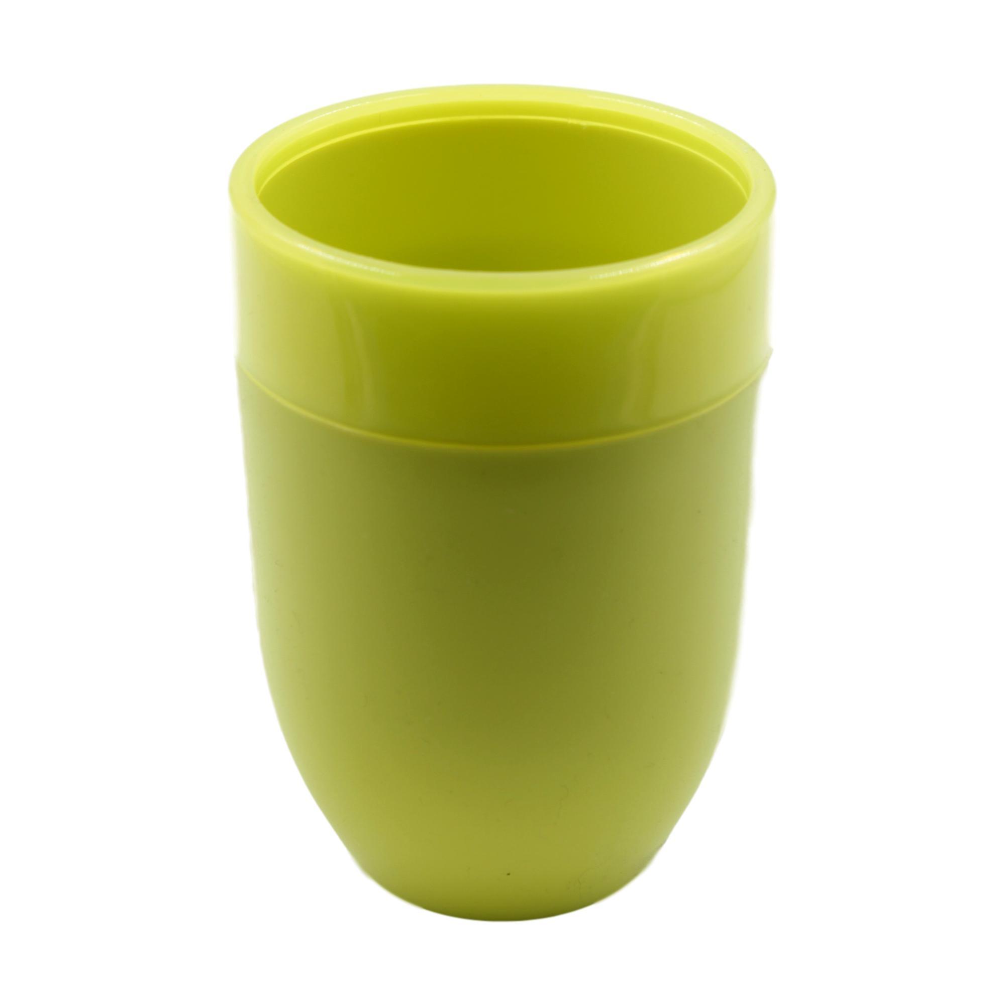 Green Summer Brights Plastic Bathroom Tumbler