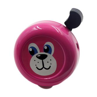 Cute Pink Dog Face Childrens Bicycle Bell