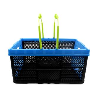 Blue Collapsible Shopping Basket