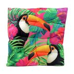 Exotic Toucan Bird Design Seat Pad x1