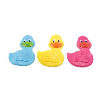 Pack of 9 duck bath splats