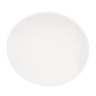 12x Large Round Mirrored Table Centre Plate 30cm