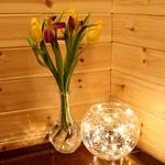 Light Up Glass Fish Bowl 40 LED Fairy Lights Side Table Lamp Decor Wedding Centrepiece