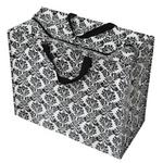 Black & White Baroque Storage Laundry and Toy Bag